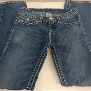 True Religion Boys Jack Super T Mens Jeans 27
